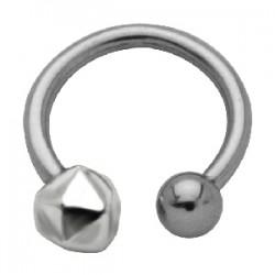 Piercing micro-circular 50 - Caillou