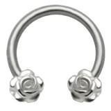 Piercing circular 41 - rosas