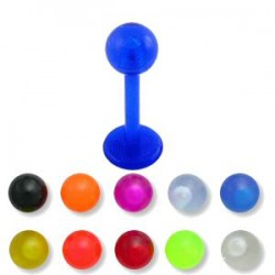 Piercing micro-labret PTFE 19 - Unicolor Bola