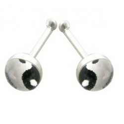 Piercing stud de nariz 0.5mm 46 - Logo yin yang