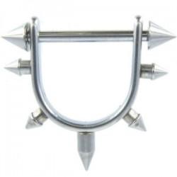 Pezón escudo 06 - acero cyloPicos
