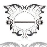 Piercing teton en forma de ángel (04)