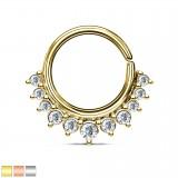 Piercing micro-bcr 187 - torre de diamantes de imitación