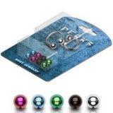 Pack de piercings micro-circulaires 1 - Bolas PVD