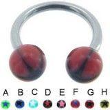 Piercing circular 67 - UV estrella C